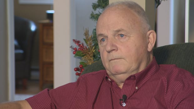 Sears retiree Ron Husk, 72, says he had to start a part-time job to deal with the bankrupt company's cuts to his pension package.