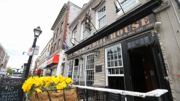 Sir John's Public House in Kingston, Ont., has announced it will remove the reference to Canada's first prime minister from its name.