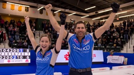 John Morris, Kaitlyn Lawes return to Olympics with mixed doubles victory thumbnail