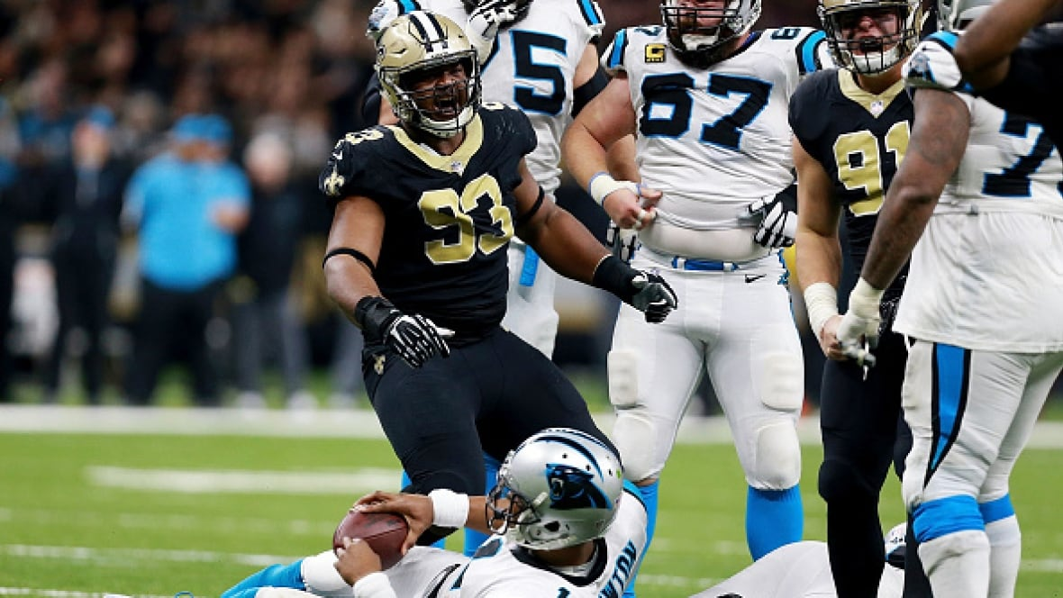 New Orleans Saints 21, Carolina Panthers 9