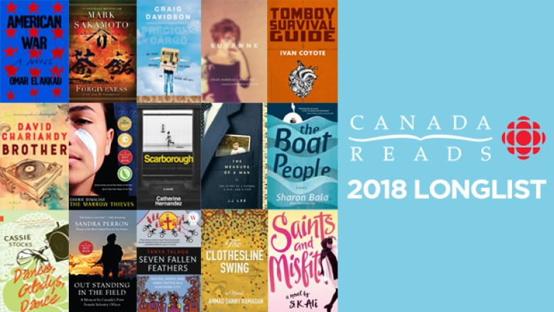 Here is the Canada Reads 2018 longlist
