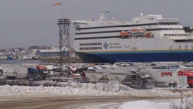 Marine Atlantic has called off both Wednesday morning ferry crossings between Newfoundland and Nova Scotia.