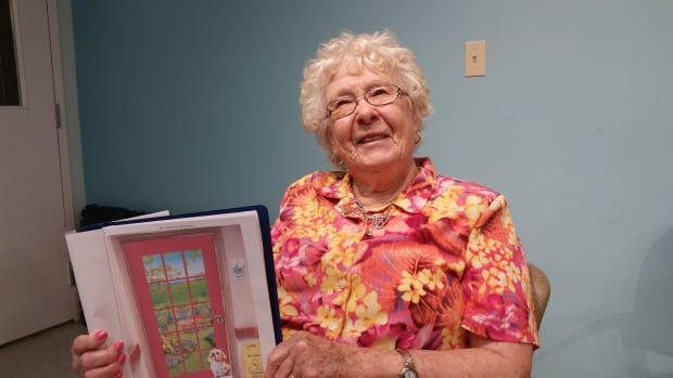 Mary Gauthier, 92, says she used to be an avid gardener, and her new door will bring back fond memories.