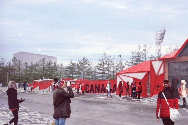 Canada olympic house 3