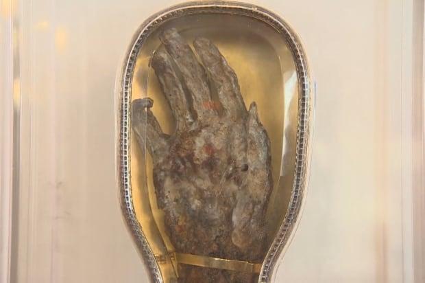 St. Francis Xavier arm