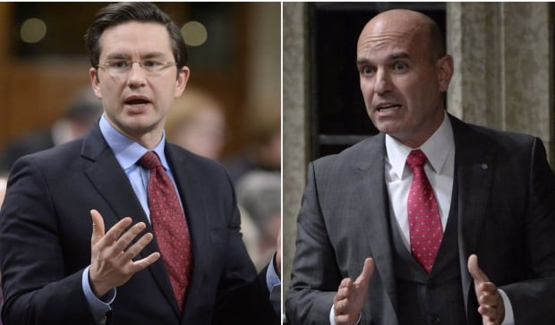 Nathan Cullen and Pierre Poilievre