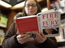 'I consider it a work of fiction and I think it's a disgrace,' says U.S. President Donald Trump on journalist Michael Wolff's new book, Fire and Fury: Inside the Trump White House.
