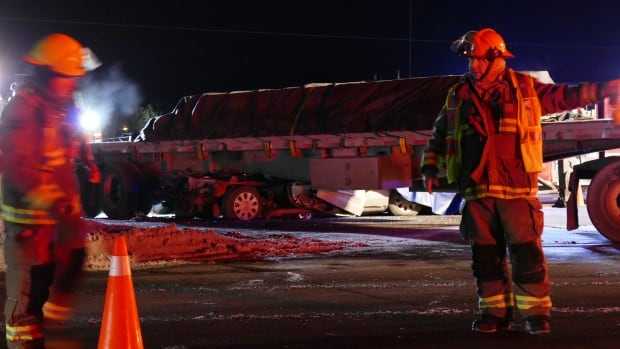 Driver Killed in Crash with Semi on South Perimeter Highway