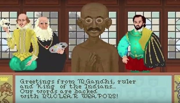 Gandhi_CivilizationGame_Screengrab