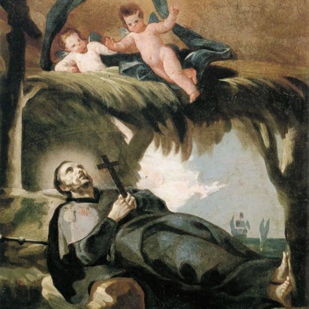 Death of Francis Xavier, by Goya