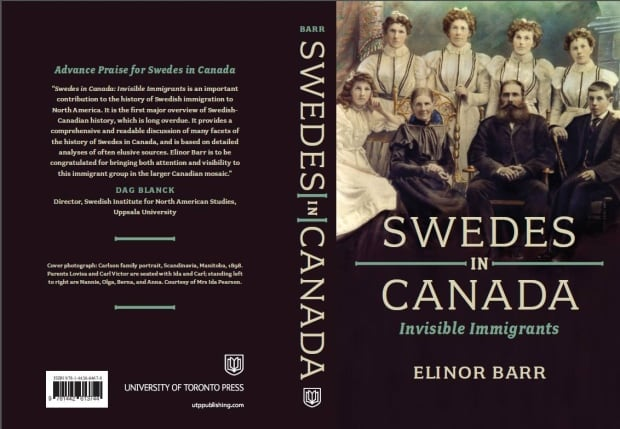 Swedes in Canada Elinor Barr book cover