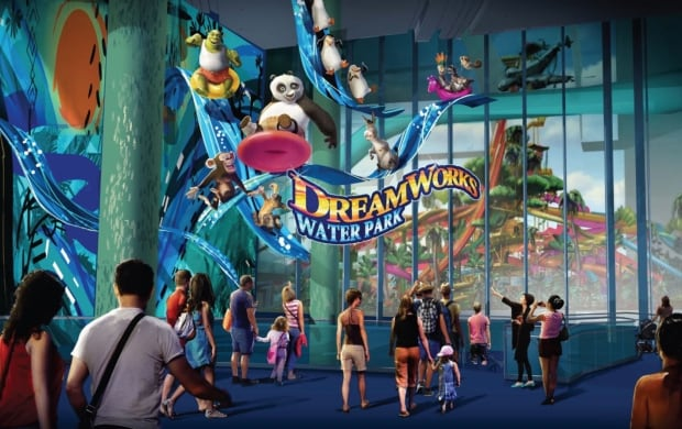 Dreamworks water park