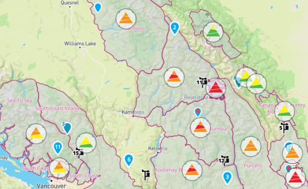 Avalanche Canada danger rating