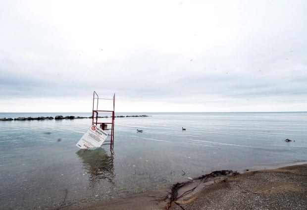 Toronto Island Flooding 20170519