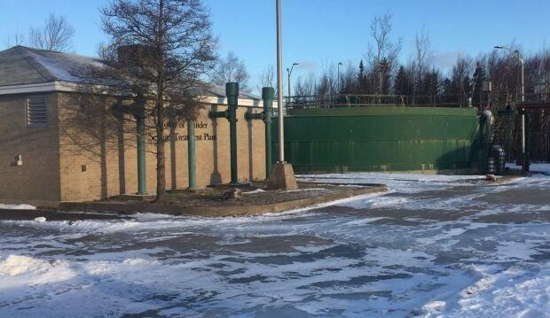 Gander Sewage Treatment Plant