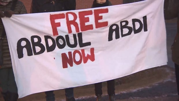 Abdoul protest
