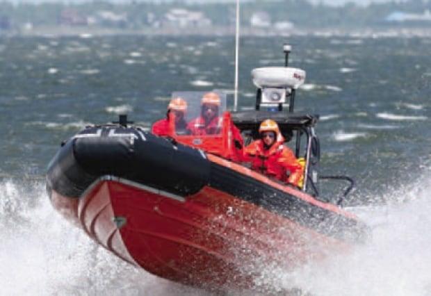 fast rescue craft coast guard