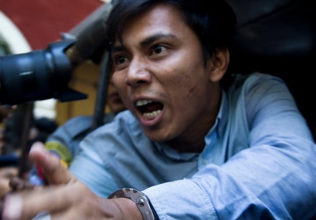 Myanmar Journalists Arrest