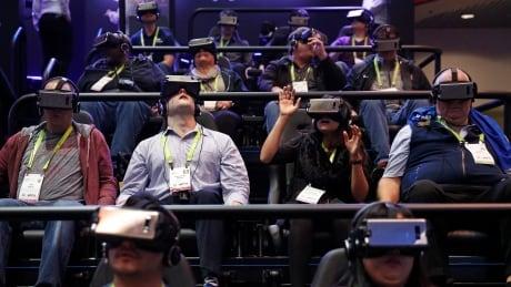 CES Gadget Show Samsung virtual reality