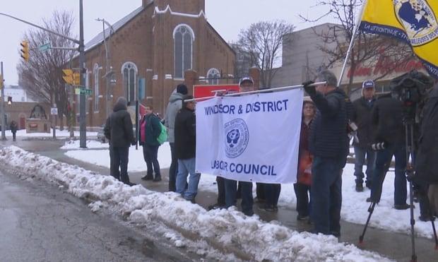 Windsor labour rally