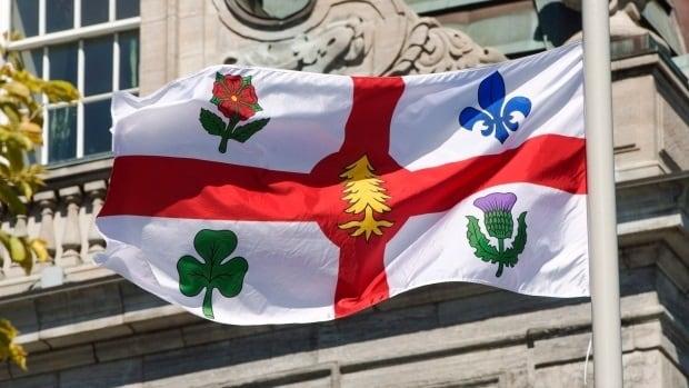 Montreal flag