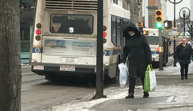 Slippery Regina streets Jan 9 2018