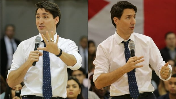 Prime Minister Justin Trudeau took questions from the crowd gathered at McMaster University in Hamilton, Ont. Wednesday on topics that ranged from national security, to gender equality and the legalization of drugs.