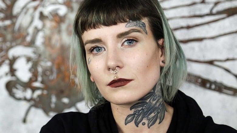 24a41de6d95c0 Memphis Cadeau hears a range of harrowing stories from tattoo removal  clients at her Hamilton, Ont. shop. (Adam Carter/CBC)