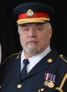 File Hills First Nations Police Service Police Chief Lennard Busch