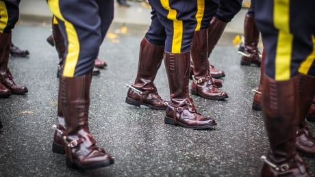 rcmp boots stock mountie