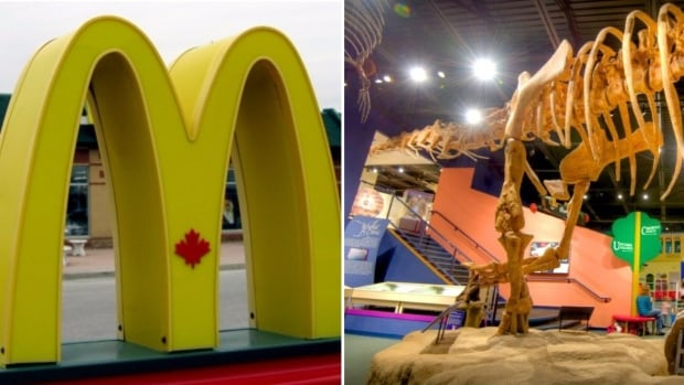 A McDonald's ad that aired on radio stations in B.C. suggested $5 is better spent on a McPicks meal than a trip to the museum.