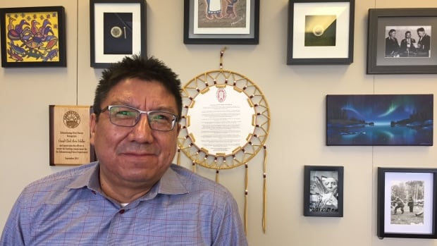 "Alvin Fiddler, the Grand Chief of the Nishnawbe Aski Nation, says the move to provide stable funding to Indigenous police forces in Canada is ""huge."""