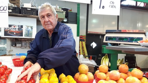 Longtome Rosemont—La Petite-Patrie resident Joseph Lettieri, seen here at the neighbourhood market, says he expects more services for the higher tax bill.