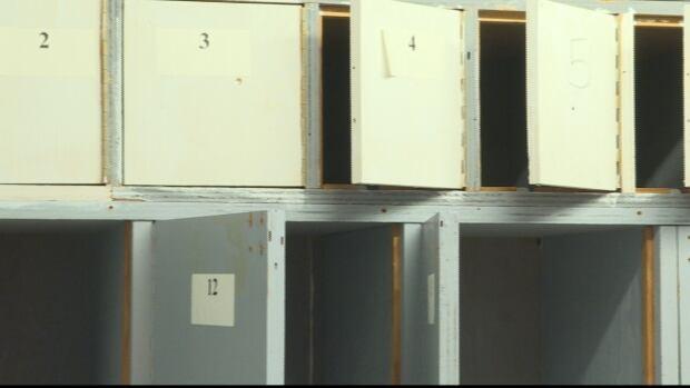 BNPP exhibit lockers