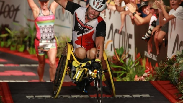 Robert Buren placed second in the Ironman World Competition in Kona, Hawaii in 2016.