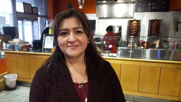Amana Abdelmagid is the small business owner of Main Street Donair & Falafel in Yellowknife. She says the minimum wage hike isn't an issue for her business.