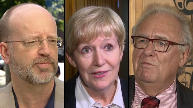"""Former B.C. Liberal attorney general Suzanne Anton, former B.C. NDP strategist Bill Tieleman and former deputy minister Bob Plecas want to be the official voice of the """"no"""" side in this autumn's proportional representation referendum in B.C."""
