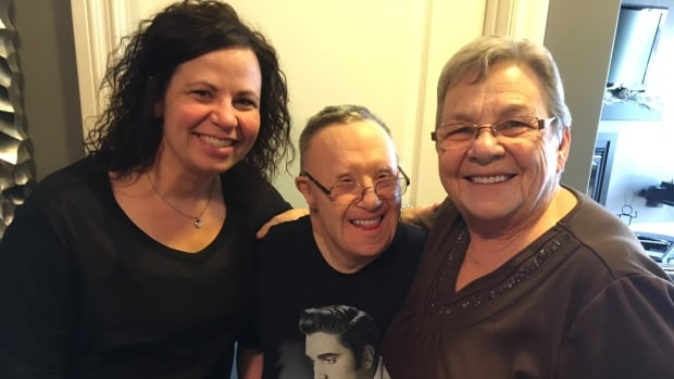 Jerry Kryzanowski has faced four different moves in two years, which has been hard on the 62-year-old from Wadena, Sask. His niece Christie Gradin (left) and older sister Dianne Gradin (right) say they would like to see him settled in a group home that has the resources to support Kryzanowski, who has Down syndrome.