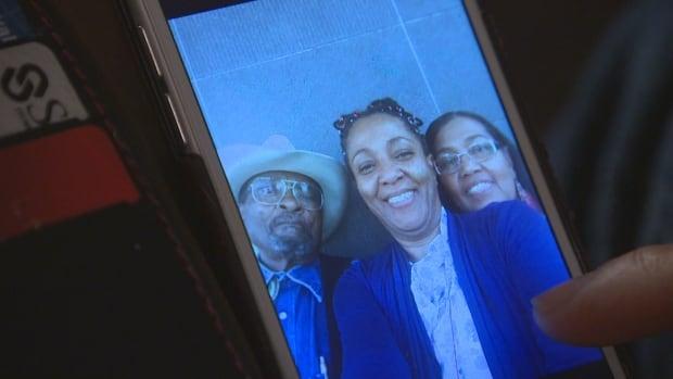 Debbie Olfert and parents