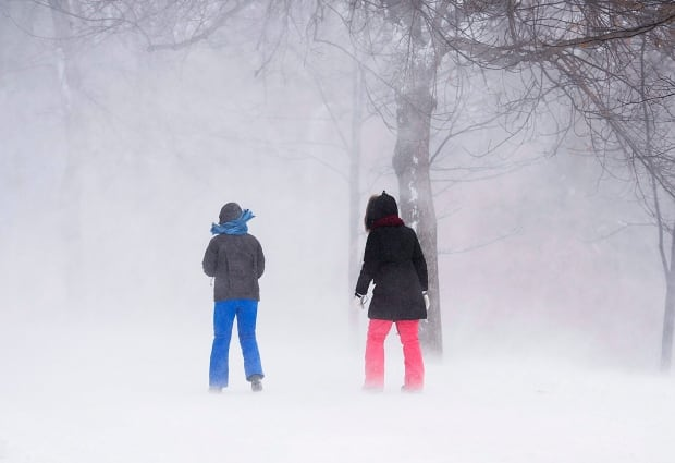 Montreal Weather 20180106