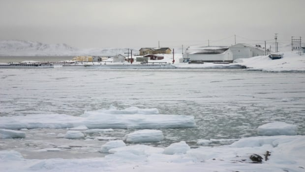 The sea ice near the island community of Black Tickle is still not frozen enough this year for safe passage by snowmobile to mainland Labrador, which is about four kilometres away.