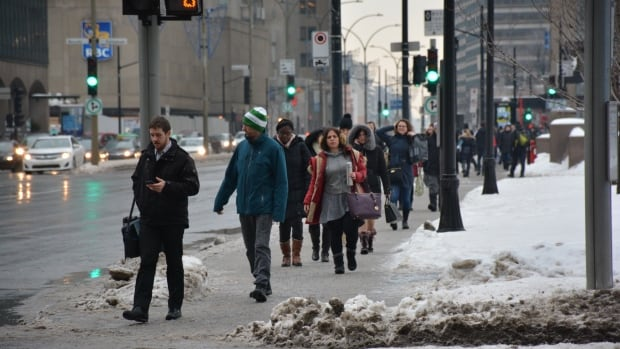Environment Canada warns that snow mixed with freezing rain and ice pellets is also on the way this weekend.