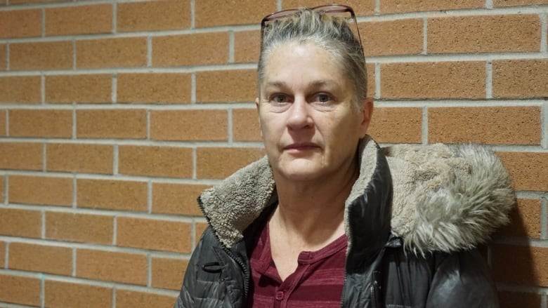 Caroline Pugh-Roberts was forced to work in strip clubs along Highways 402  and 401 for years. (Kate Dubinski/CBC News)