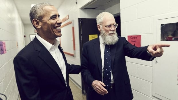 Barack Obama and David Letterman Break Down the President's Dad Dance Moves