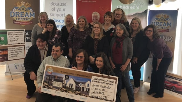 Former and current Fanshawe College staffers won the Dream Lottery Thursday morning.