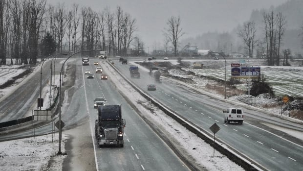 Freezing rain is once again in the forecast for the Fraser Valley.
