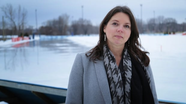 Julie Colbourne-Milne, president of the Ottawa Pacers Speed Skating Club, says she's confident her crew can get the Brewer Parker oval ready for this weekend's provincial championship.