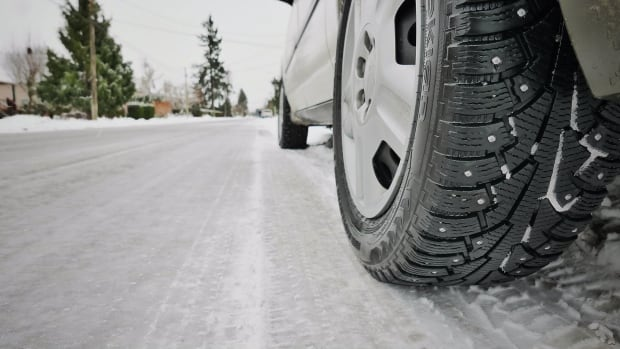 Monday cautioned with 'challenging' road conditions