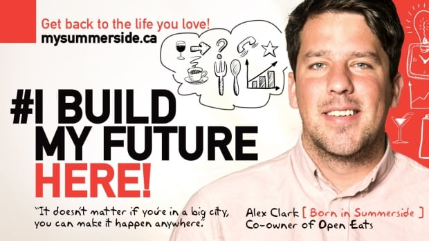 Summerside's Alex Clark was profiled as part of the new program. He's the co-owner of Open Eats and plans on opening a brewery in the city this year.