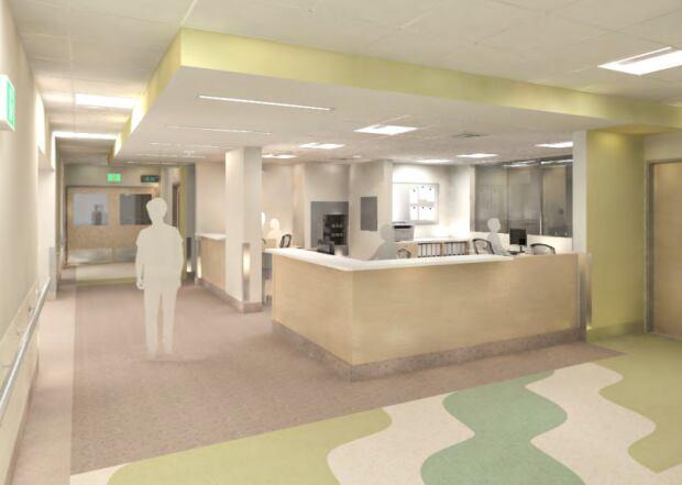 Second Floor Stanton Territorial Hospital